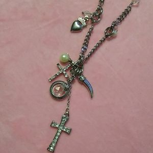 Charm necklace by Express
